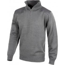 Jersey de media cremallera con refuerzos en hombros y codos.S5501