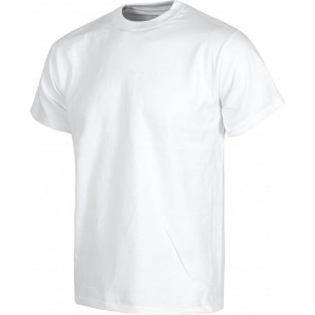 Camiseta manga corta, cuello caja, algodón.S6600