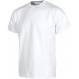 Camiseta manga corta, cuello caja, algodón.S6601
