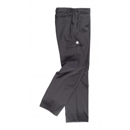 Pantalón Workshell liso.S9830