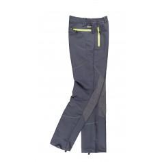 Pantalón de montaña, combinado con ripstop, multibolsillos. Presillas a contraste.S9855