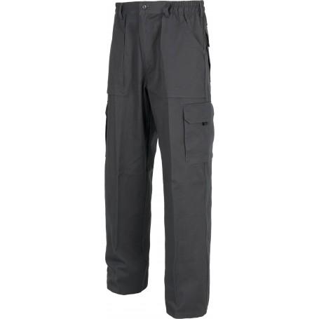 Pantalón linea 4 con elástico en cintura, multibolsillos y con refuerzo en la culera.WF1400