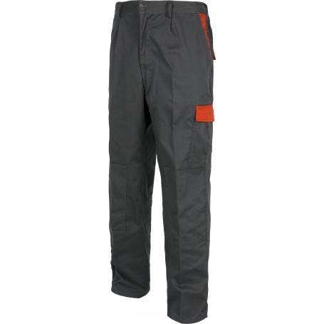 Pantalón linea 2, con elástico en cintura, bolsillos combinados. Rodilleras.WF1550
