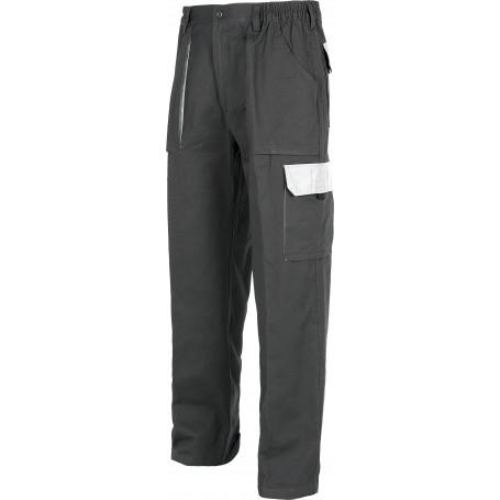 Pantalón linea 3 combinado, elástico en cintura, multibolsillos y con refuerzo en culera.WF1560