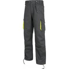 Pantalón linea 6 multibolsillos con elástico en laterales.WF1619