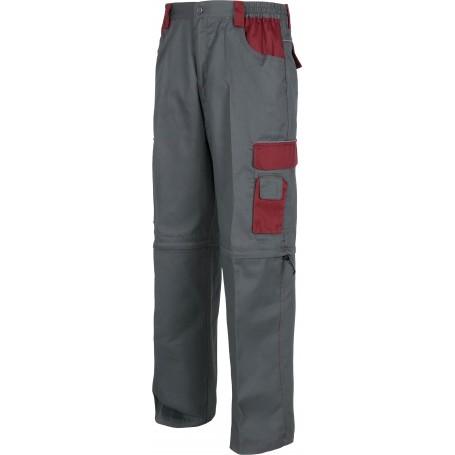 Pantalón linea 8 combinado multibolsillos con perneras desmontables.WF1850