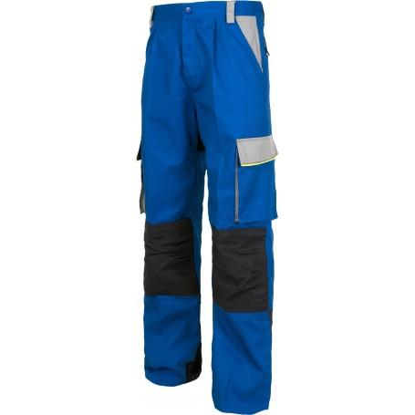 Pantalón linea 5, 3 colores. Cintura elástica, multibolsillos,bolso rodilleras, vivos reflectantes.WF5852