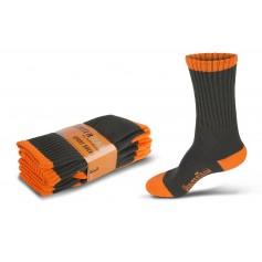 Calcetines, pack de tres pares, elástico en empeine y tobillo.WFA022