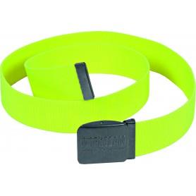 Cinturón elástico con logo en la hebilla y en el tejido.WFA501