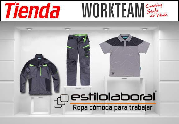 tienda workteam ropa